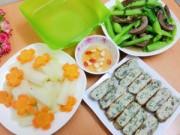 Bếp nhà tôi  - Bữa ăn đơn giản mà ngon ngày mưa