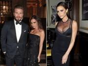 Dáng đẹp - Victoria Beckham gợi cảm bên chồng ở sự kiện