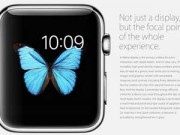 Eva Sành điệu - Thông số kỹ thuật sản phẩm Apple Watch