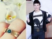 """Làng sao - Nathan Lee khoe nhẫn đính hôn trước khi """"mất tích"""""""