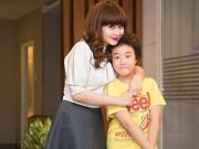 """Làng sao - Lưu Thiên Hương xinh đẹp bên """"Doraemon tóc xù"""""""