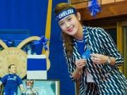 Làng sao - Á hậu Huyền My xinh tươi dự sinh nhật CLB Chelsea