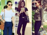 Thời trang - Tuần qua: Sao Việt khoe chân nuột với quần skinny