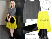 Thời trang công sở - Chọn váy hoàn hảo cho cô nàng chân cong
