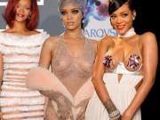 Thời trang - Những bộ cánh thảm đỏ gây sốc của Rihanna