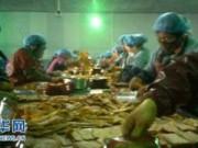 Tin tức - Hãi hùng xưởng sản xuất đồ ăn vặt trẻ em siêu bẩn ở TQ