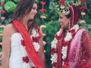 Chuyện tình yêu - Ấn Độ: Đám cưới đồng tính đầu tiên của 2 cô gái xinh đẹp
