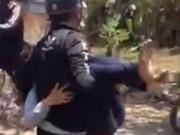 Tin tức - Thiếu nữ đánh nữ sinh ngất xỉu ngay trên đường