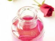 Những tác dụng  ' không tưởng '  của nước hoa hồng