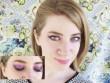 Làm đẹp - Trang điểm mắt màu tím cho buổi hẹn hò thêm lãng mạn