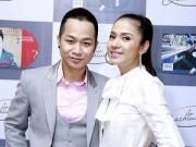 Âm nhạc - Việt Trinh đẹp giản dị đến chúc mừng Quách Tuấn Du