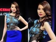 Thời trang Sao - Thanh Hằng tái xuất gợi cảm với mốt xuyên thấu