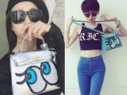 """Thời trang - Túi nhái Shy Girl khiến sao Việt """"say như điếu đổ"""""""