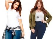 Tư vấn mặc đẹp - 5 bí quyết mặc quần jeans cho nàng béo