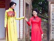 Hậu trường - HH quý bà Trần Thị Quỳnh, Sonya Sương Đặng đọ dáng mềm