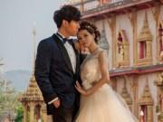 """Làng sao - Y Năng Tịnh khoe ảnh cưới lãng mạn bên """"phi công trẻ"""""""