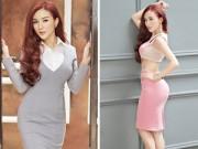 Thời trang Sao - Hotgirl Kelly nóng bỏng với váy cut - out táo bạo