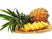 Sức khỏe - Ăn dứa đúng cách để tránh ngộ độc, dị ứng