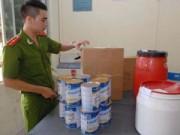 Mua sắm - Giá cả - Phá cơ sở sản xuất sữa giả cho bà bầu, trẻ em