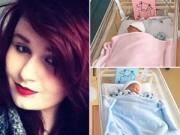 Sau sinh - Xót xa mẹ trẻ xinh đẹp qua đời ngay sau ca sinh đôi