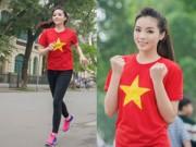 Nhân vật đẹp - Kỳ Duyên xinh đẹp rạng ngời trong ngày chạy vì sức khỏe