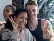 Làng sao - Phương Vy Idol và chồng Tây giản dị đi tuần trăng mật