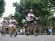 Người dân Thủ đô đạp xe hưởng ứng Giờ Trái Đất