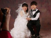 Chuyện tình yêu - Đám cưới đẹp như cổ tích của cặp đôi siêu tí hon