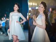 Dáng đẹp - Á hậu Thụy Vân đẹp kiêu sa trong sắc trắng