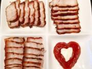 Thực đơn – Công thức - Thịt tẩm húng lìu áp chảo ngày mưa