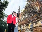 Làng sao - Dustin Nguyễn - Bebe Phạm tình tứ trong ảnh cưới ở Thái Lan