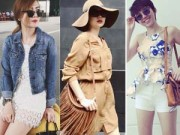 Thời trang - Tuần qua: Thời trang đón nắng mát mẻ của sao Việt