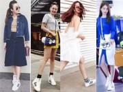 Xu hướng thời trang - Sao Việt mê mệt đôi giày Adidas 2 triệu đồng