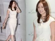 Làng sao - Son Tae Young khoe bụng phẳng lỳ sau sinh
