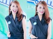 Hậu trường - Thanh Hằng xinh đẹp trẻ trung ở tuổi 32