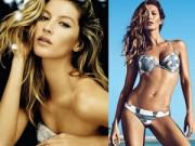 Làm đẹp - Siêu mẫu giàu nhất thế giới khoe dáng với bikini