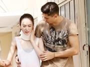Làng sao - Angela Phương Trinh nhập viện vì gặp chấn thương ở cổ