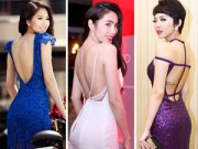 Thời trang - Kỹ nghệ khoe 'lưng ong' nuột nà của sao Việt