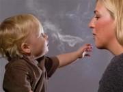 Sức khỏe - Trẻ phơi nhiễm khói thuốc lá dễ bị đau tim