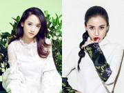 """Làng sao - """"Cân"""" nhan sắc hai người tình của Huỳnh Hiểu Minh"""