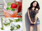 Dưỡng da - 3 loại siro thơm mát giúp giảm cân nhanh chóng