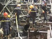 Tin tức - Sập giàn giáo Formosa do sự cố má phanh hệ thống thủy lực