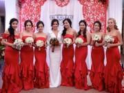 Thời trang - Lạc vào 'thế giới' của các nàng phù dâu xinh đẹp
