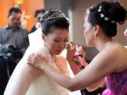 Hôn nhân - Gia đình - Vì sao cô dâu phải khóc trong ngày cưới?