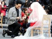 Làng sao - Cựu HH Viên Vịnh Nghi được chồng cầu hôn sau 14 năm