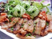 Thực đơn – Công thức - Thịt nướng kiểu Hàn Quốc thơm ngon, dễ làm