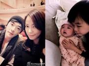 Hậu trường - Kwon Sang Woo lần đầu khoe ảnh con gái đáng yêu
