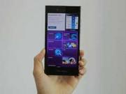 Góc Hitech - Ngắm smartphone toàn màn hình cảm ứng của BlackBerry