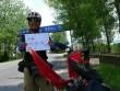 Tình yêu - Giới tính - Chàng trai đạp xe 3000 km để cầu hôn người yêu