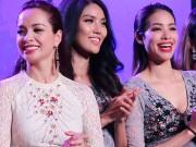 Làng sao - Phạm Hương hội ngộ Nam Em, Hà Thu sau cuộc thi HH Hoàn vũ